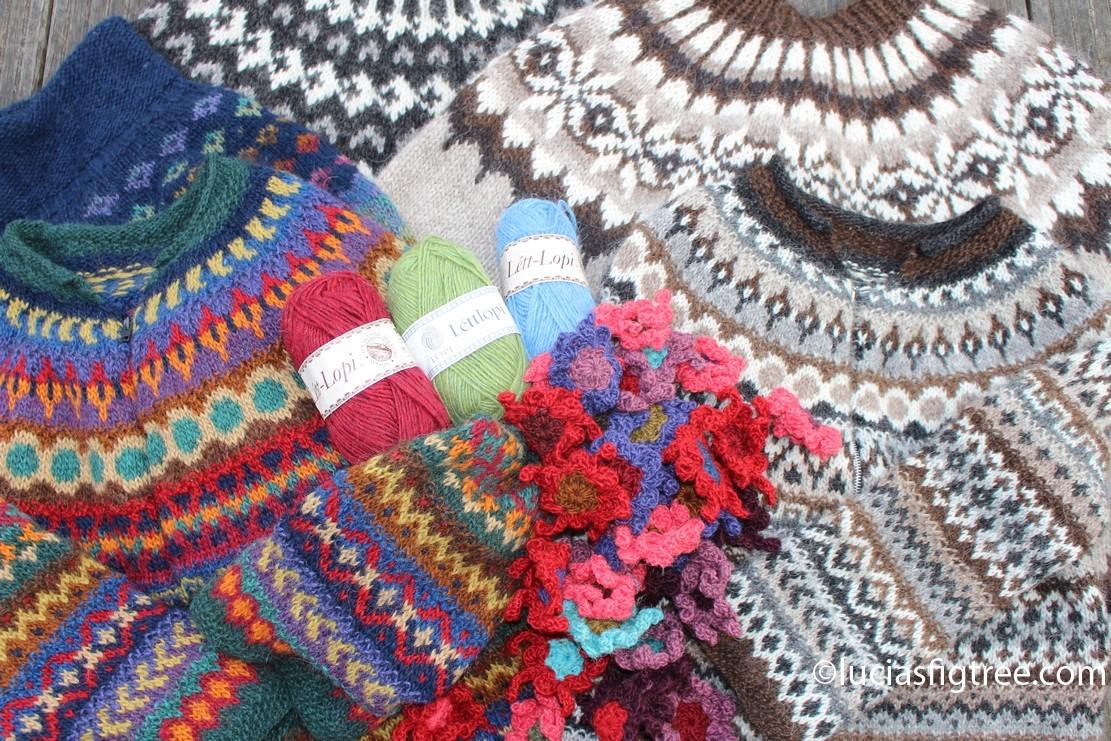 June's blanket, bucket-list and Iceland…