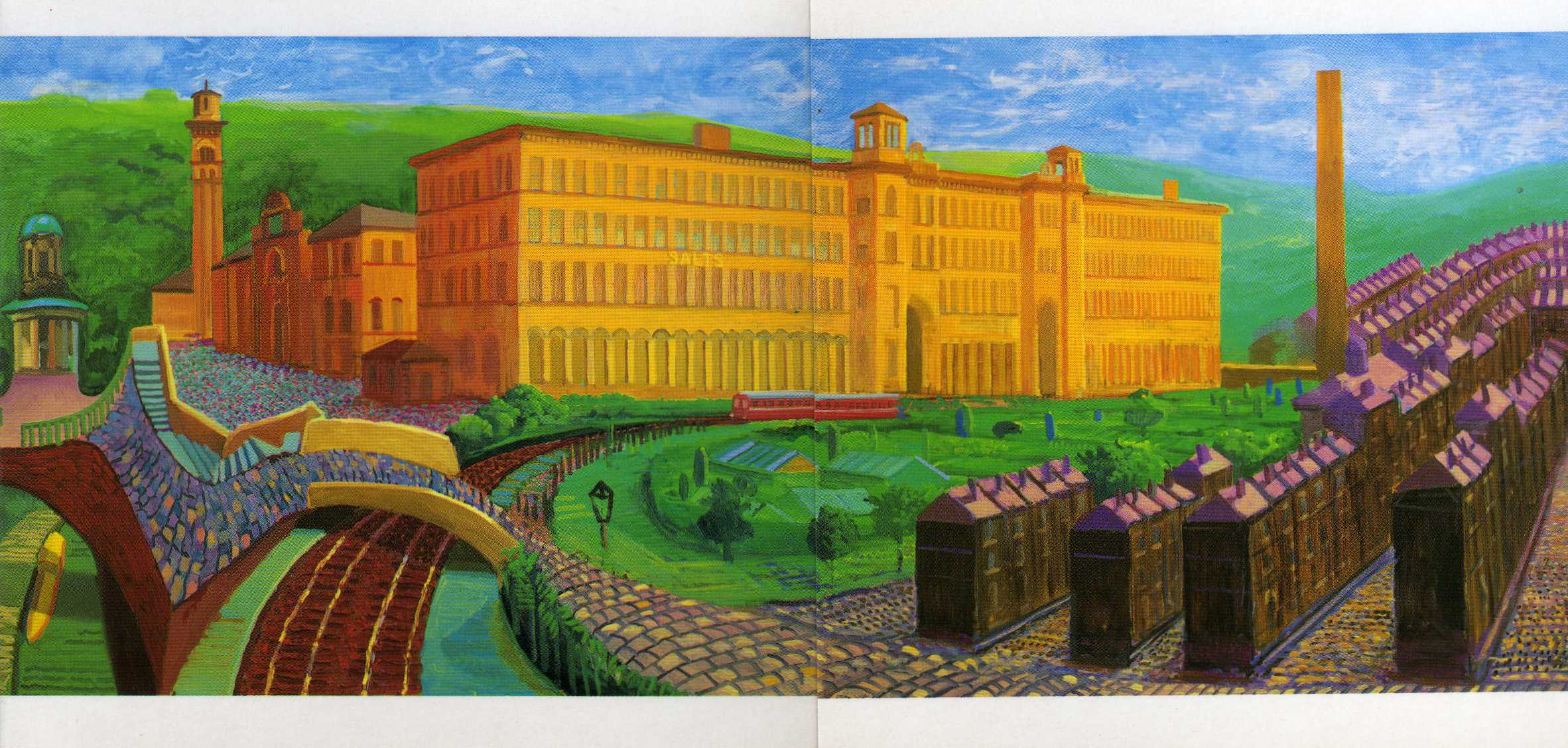 A trip to  Yorkshire episode 1:  Salts Mill  and David Hockney….