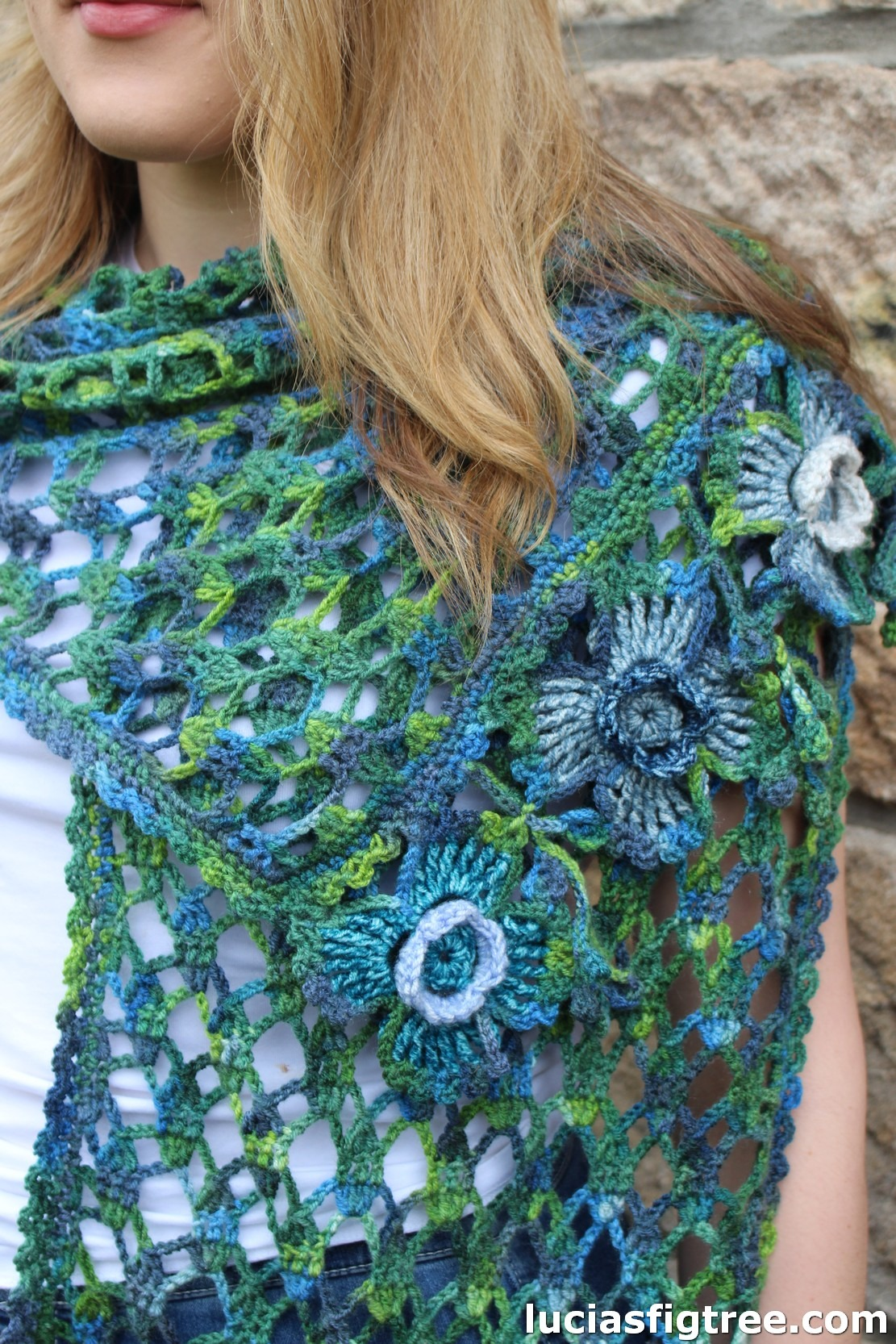 """BLOGTOUR TIME !!! the """"Spanish moss scarf"""""""