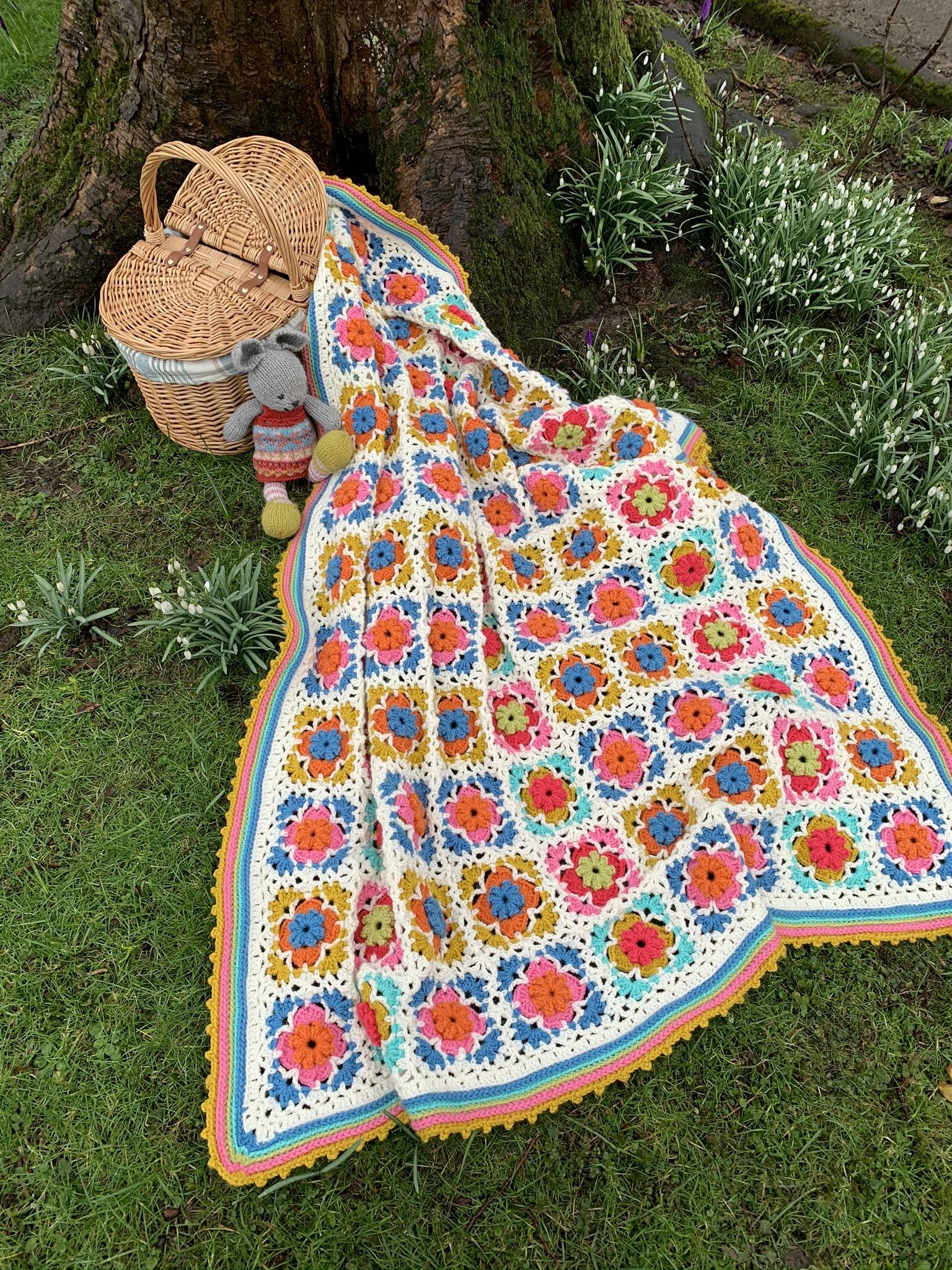 Peerie Blooms Blanket