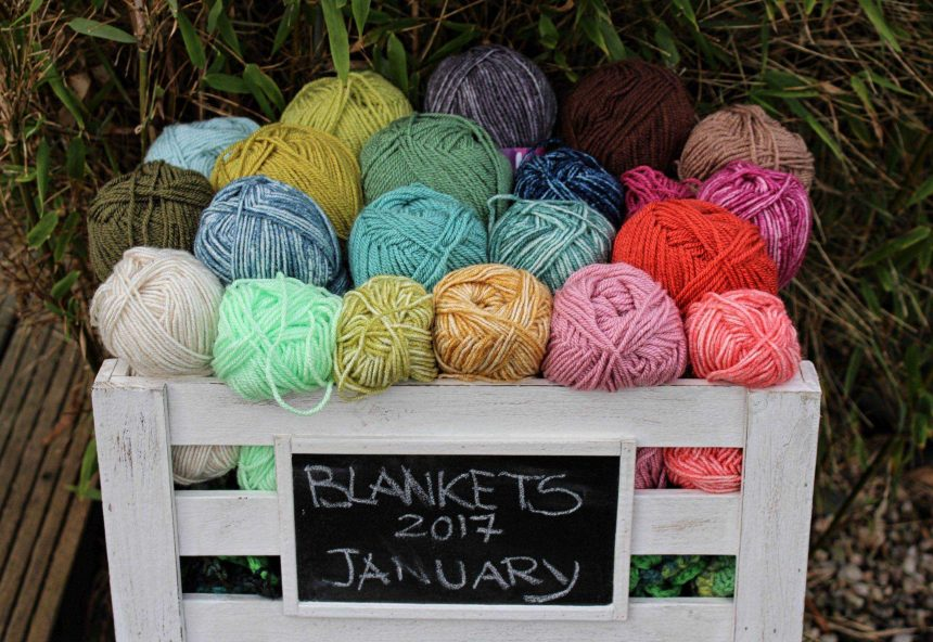 ONE BLANKET FOR EACH MONTH….