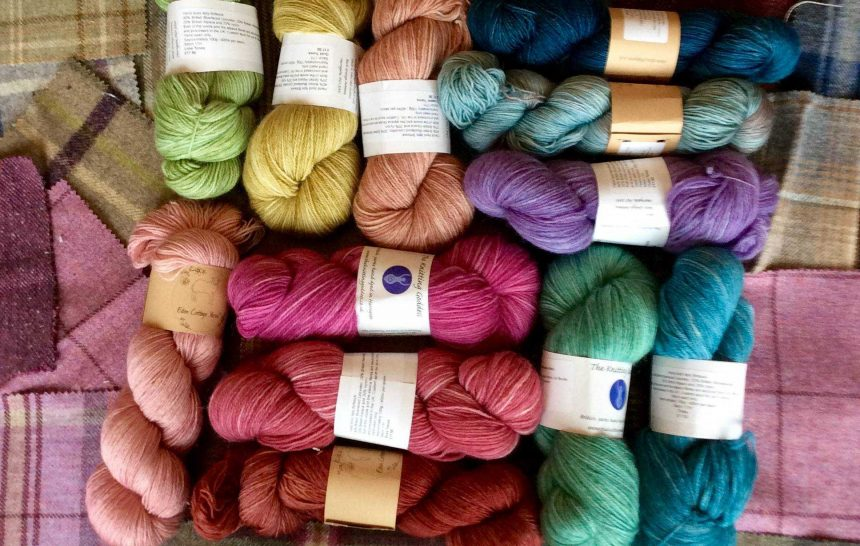 Yarn,friends,more yarn,macaroons and a family's ceilidh…part one