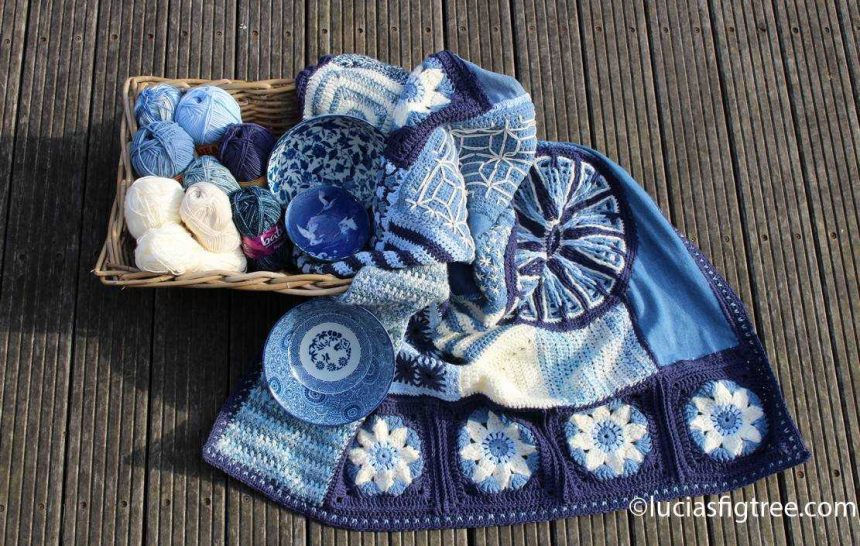 The end of May: The indigo blanket