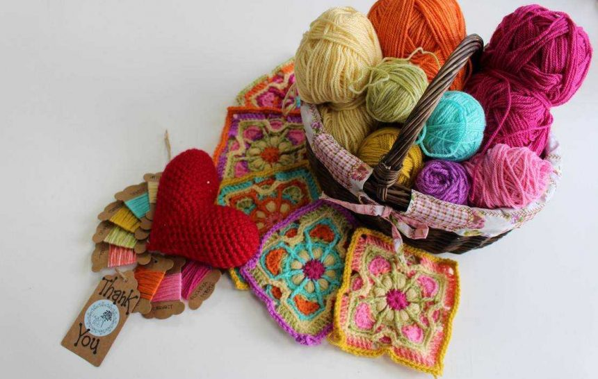 Annabelle's blanket colours and few more stories….