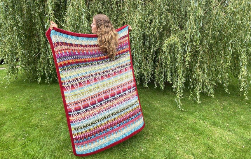 THE FOLK QUEEN BLANKET IS HERE!!!!!